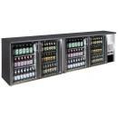 TC-BB-4GDI INOX Vitrină frigorifică bar, cu patru uși