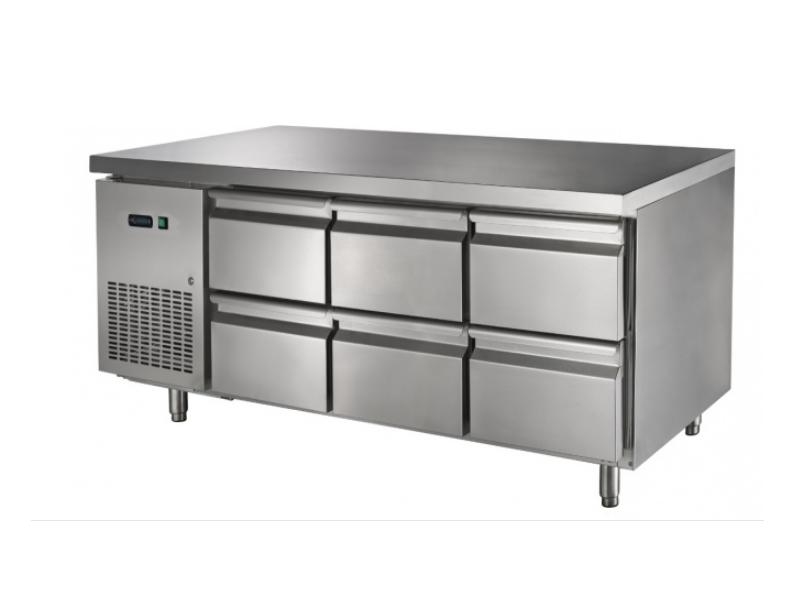 Masă refrigerată GNTC700 D6