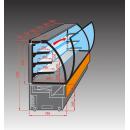 EVO 60   Vitrină frigorifică pentru cofetărie cu agregat extern