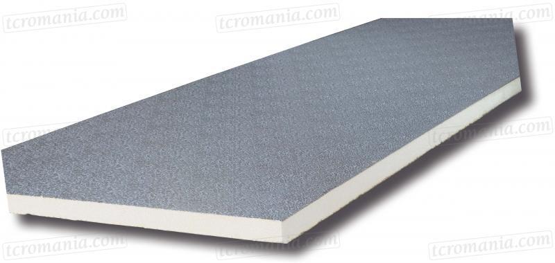Panel 20 mm - mintás 80 µm és mintás 200 µm, habsűrűség: 45 kg/m3