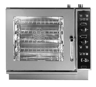SVE 042 Direkt gőzbefúvásos kombi sütő 4 x 2/3 GN