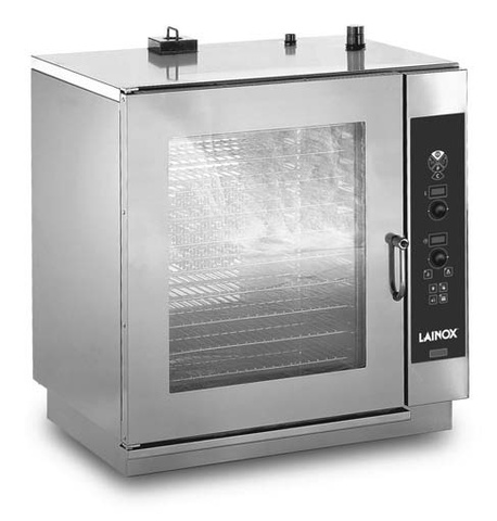 SMG 101 Gázüzemű kombi sütő-pároló, boilerrel 10 x 1/1 GN