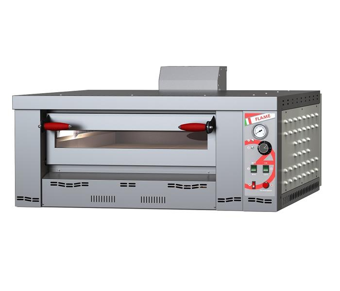 Flame 6 - Gas powered pizza oven