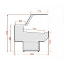 LCD Dorado 03 (1,2) - Csemegepult