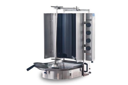 PDE 403 E - Elektromos ROBAX üveges gyros sütő