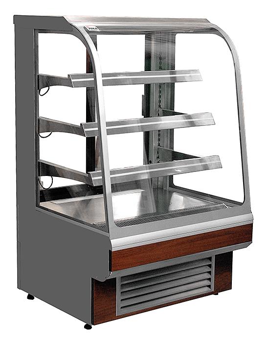Vitrină frigorifică de prezentare | C-1 TS/Z 120/CH TOSTI