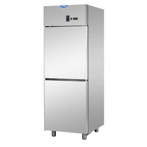 A207EKOMTN - Rozsdamentes hűtőszekrény GN 2/1
