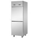 A207EKOPP - Rozsdamentes osztott hűtőszekrény GN 2/1