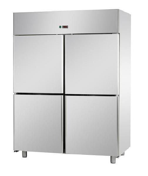 A414EKOMBT - Rozsdamentes 4 ajtós fagyasztószekrény GN 2/1