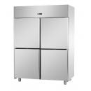 A414EKOMBT - 4 door stainless steel freezer GN 2/1