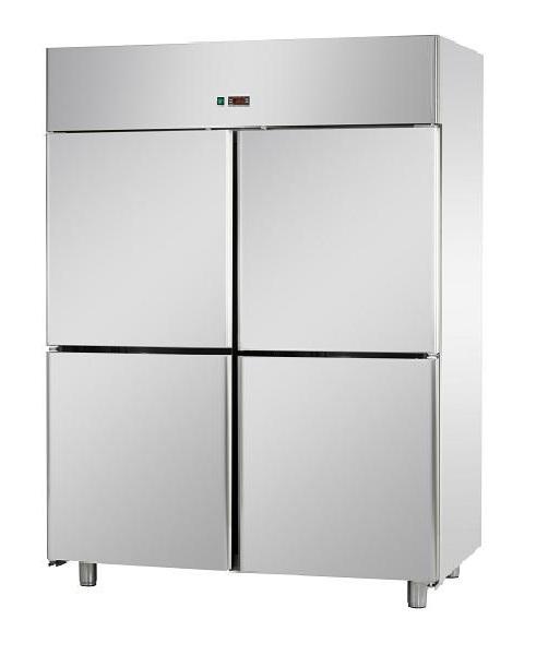 A414EKONN - 4 door stainless steel freezer GN 2/1