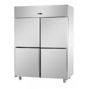 A414EKONN - 4 door stainless steel freezer GN 2/1