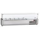 VR3200VD - Vitrină frigorifică ingrediente 8 x GN 1/3