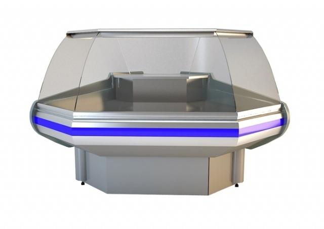 Element de colţ interior cu geam curbat, 90 grade NCH IM Z 1,4/1,2