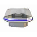 NCH IM Z 1,4/1,2 - Hajlított üvegű külső sarokpult (90°)