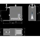 PYGMY 20/K - Száraz hűtésű, egykörös sörhűtő beépített légkompresszorral