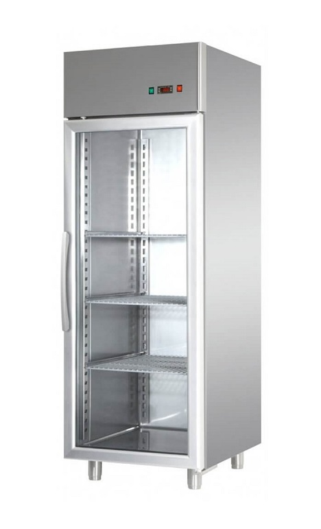AF07EKOMBTPV - Upright freezer with glass door