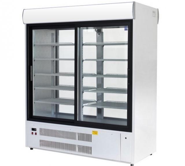 SCh-1-2/P 1400 - Sliding glass door cooler