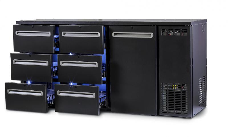 DCL-662 MU/VS | Dulap frigorific pentru bar