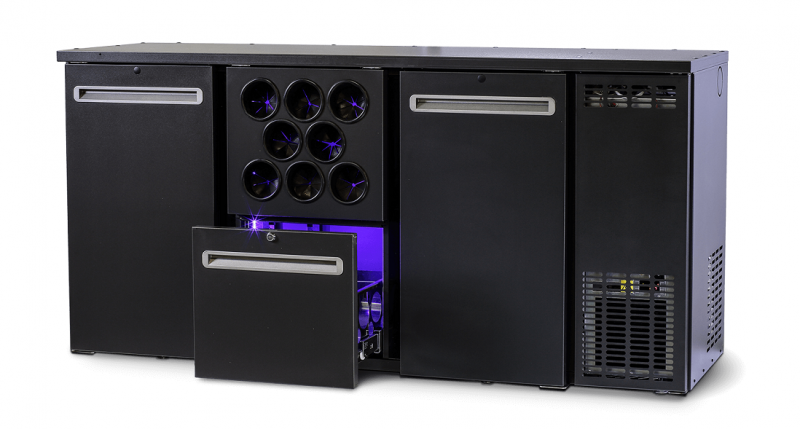 DCL-212 MU/VS - Bar cooler