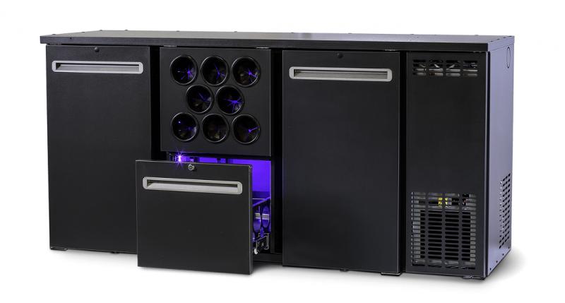 DCL-212 MU/VS Dulap frigorific pentru bar