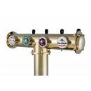 Coloană de bere pentru 3 robineți Tomanax-Eva-3