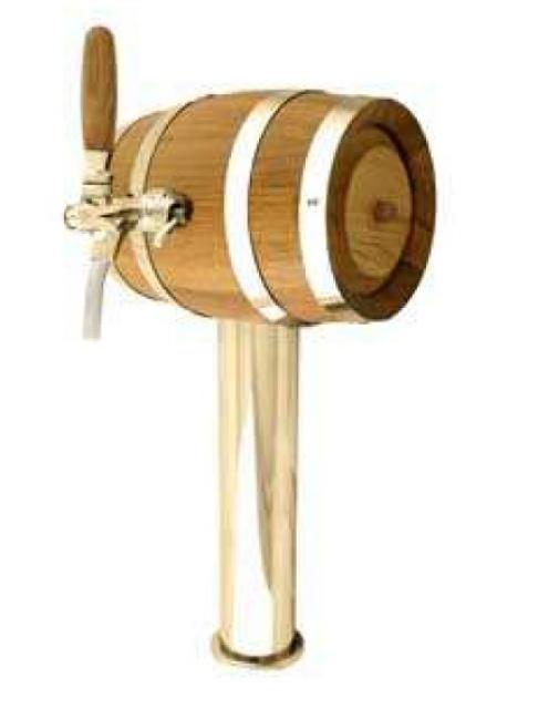 Soudek - Coloană de bere, inox, cu un robinet cromat
