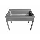 Nagyméretű süllyesztett mosogatóasztal