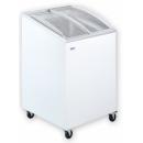 UDD 100 SCEB | Mélyhűtőláda ferde, csúszó domború üvegtetővel sc