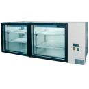 Vitrină frigorifică orizontală cu spaţiu de expunere dublu L-185-2/3 resigilat