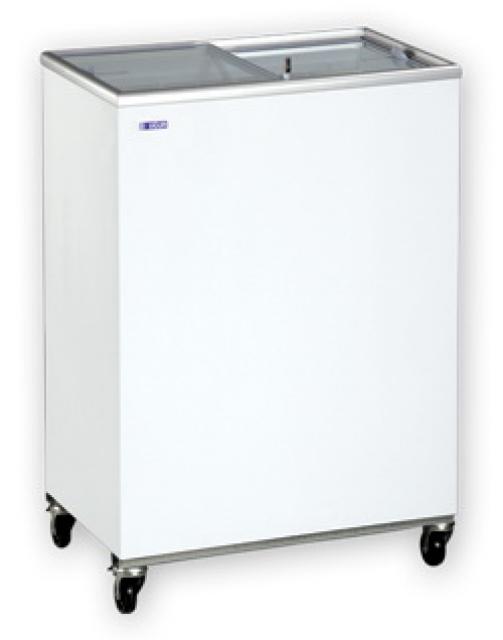 UDD 100 SC Chest freezer with sliding glass door-sc