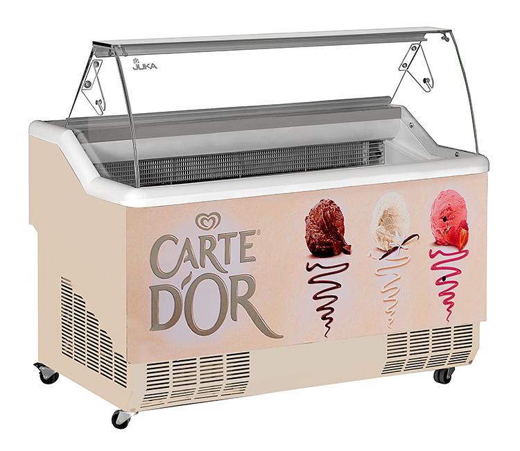Vitrină frigorifică pentru îngheţată   K-1 CS 7 CALIPSO