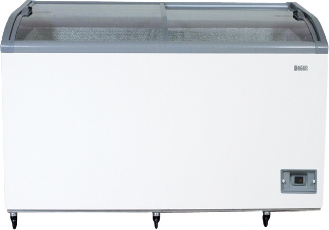 UMD 1850 S BODRUM - Chest cooler with sliding curved glass top