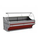 Vitrină frigorifică cu geam curbat | WCh-6/1BZA-1570 WEGA (V)