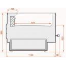 LCT Tucana 02 SELF REM 1,25 Vitrină frigorifică cu autoservire