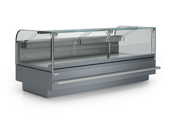 LCK Kolumba 03 1,875 - Counter with straight glass with built-in aggr. (V)