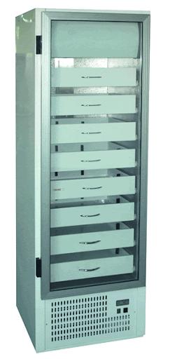 AP 725 (SCHA 601) - Glass door cooler with drawers