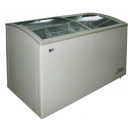 WD-330Y | Chest freezer with slanting, sliding and convexed glass door sc