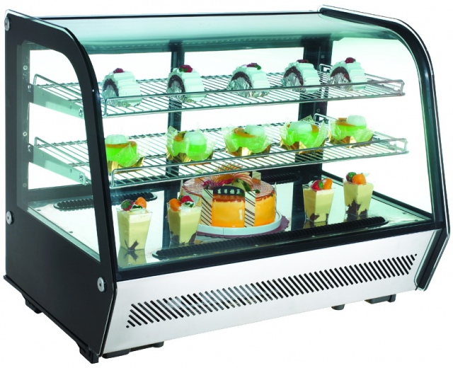 Vitrină frigorifică pentru patiserie (produs resigilat) | RTW 160B