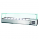 Vitrină frigorifică ingrediente pizza/salate VRX2000 RESIGILAT