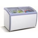Ladă congelatoare cu capac înclinat şi geamuri glisante curbate (produs resigilat) | SD-360JY