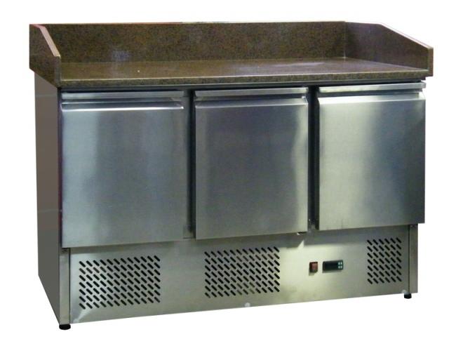 ESL3852 - Pizzaelőkészítő asztal, használt