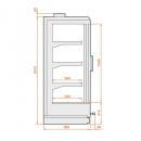 SMI Indus 04 1,56 - Fagyasztóvitrin - 2 ajtós