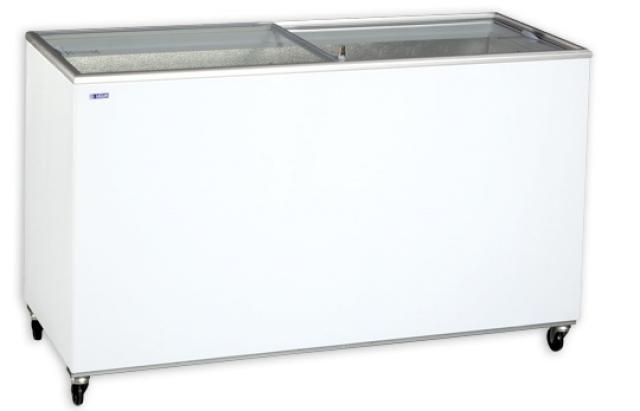 UDD 500 SCG Chest freezer with sliding glass door sc