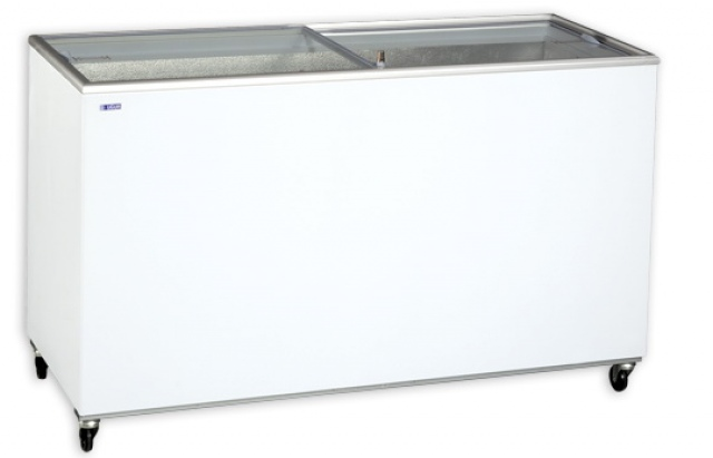 UDD 500 SCG Mélyhűtőláda csúszó üvegtetővel
