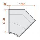 LCP Pegas SPH SELF INT45 | Vitrină frigorifică de colț interior cu autoservire