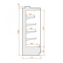 RCH Hercules 03 1,875 - Refrigerated wall cabinet