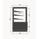 Vitrină frigorifică de cofetărie și patiserie | Limicola 1,0