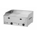FTHRC 60 G - Gázüzemű krómozott szeletsütő 1/2 sima 1/2 bordázott sütőfelülettel
