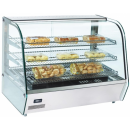 RTR 160 - Display warmer with curved glass display sc